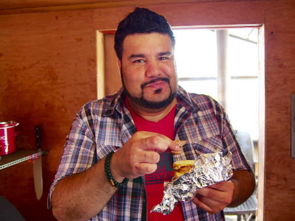 On <em>All You Can Meat</em>, Chuey Martinez will tour the country's meat hot spots. // Photo courtesy of Travel Channel
