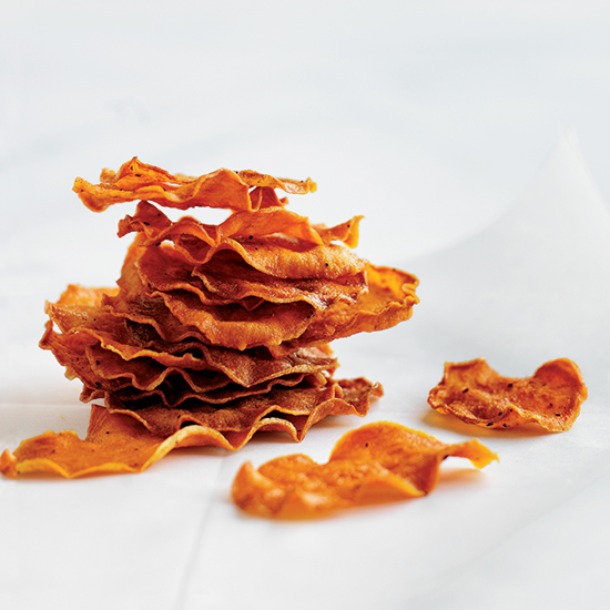 FWX EASY SNACKS BAKED SWEET POTATO CHIPS
