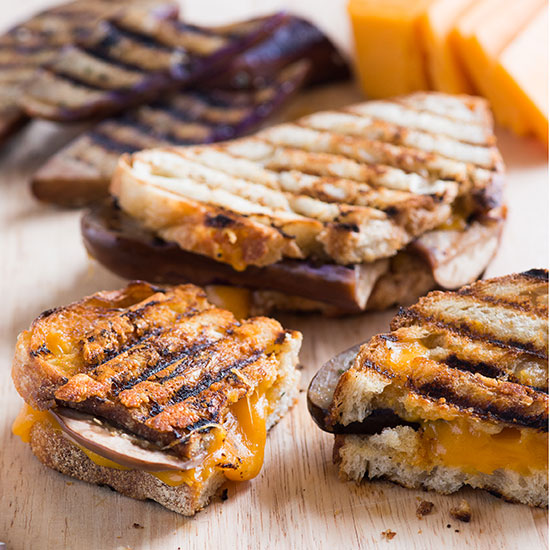FWX EGGPLANT GRILLED CHEESE SANDWICH