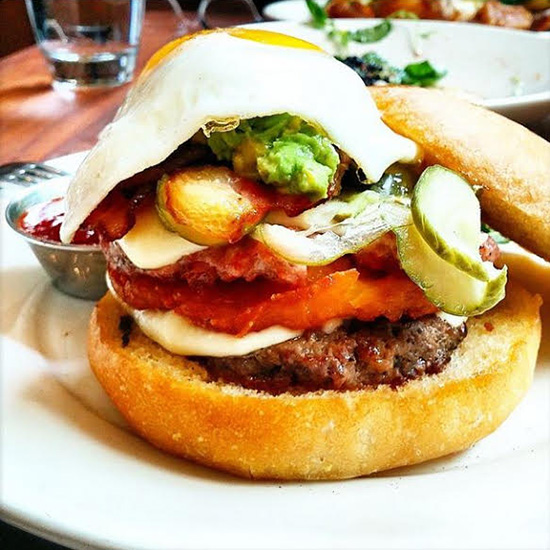 FWX HANGOVER CURES BLUESTEM BRUNCH BURGER