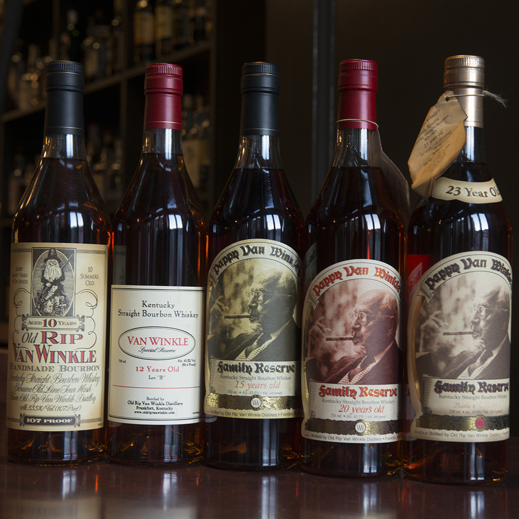 FWX PAPPY VAN WINKLE AVAILABLE AT THE AIRPORT