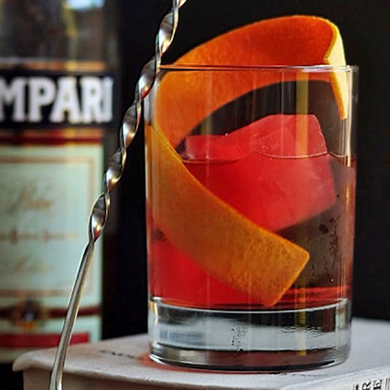 Why Award-Winning Mixologist, Marvin Martinez, Thinks the Negroni is the Perfect Cocktail
