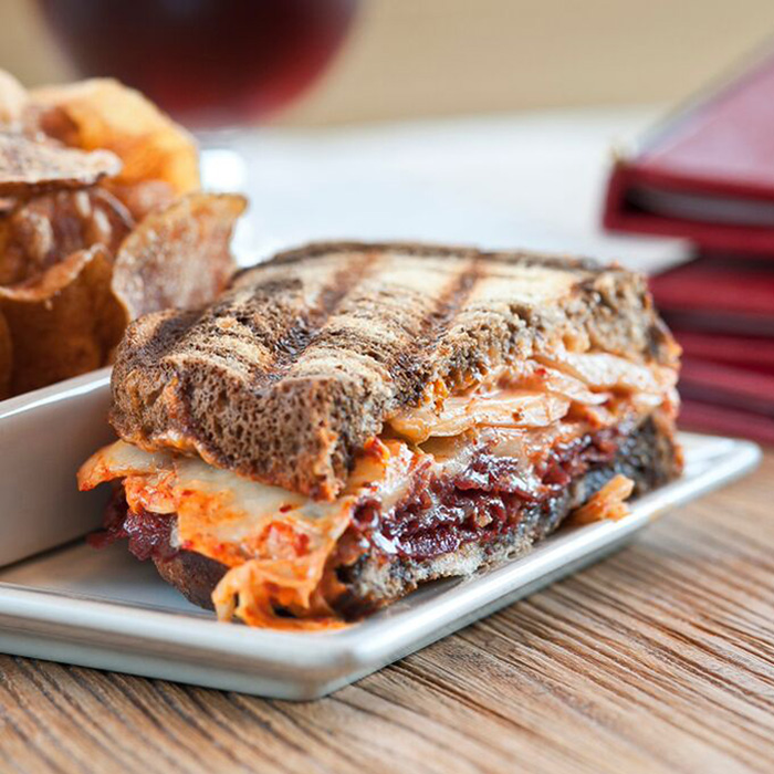 Why Your Reuben Sandwich Needs Some Kimchi