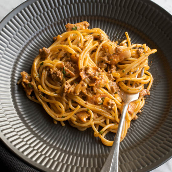 FWX SPAG BOL WITH COFFEE