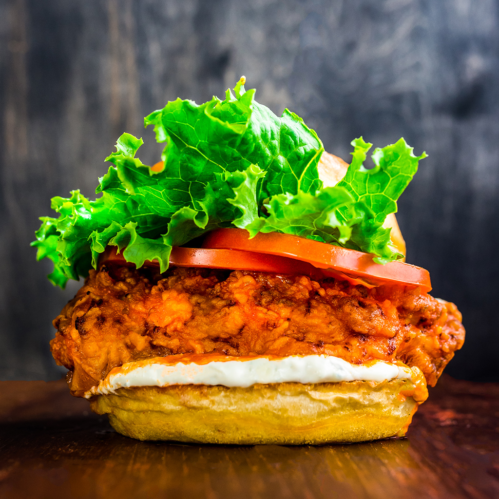 FWX STACKED SPICY CHICKEN SANDWICH