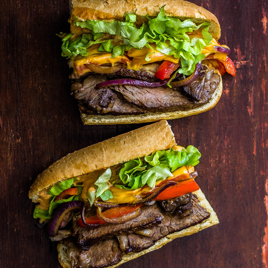 FWX STACKED STEAK SANDWICH