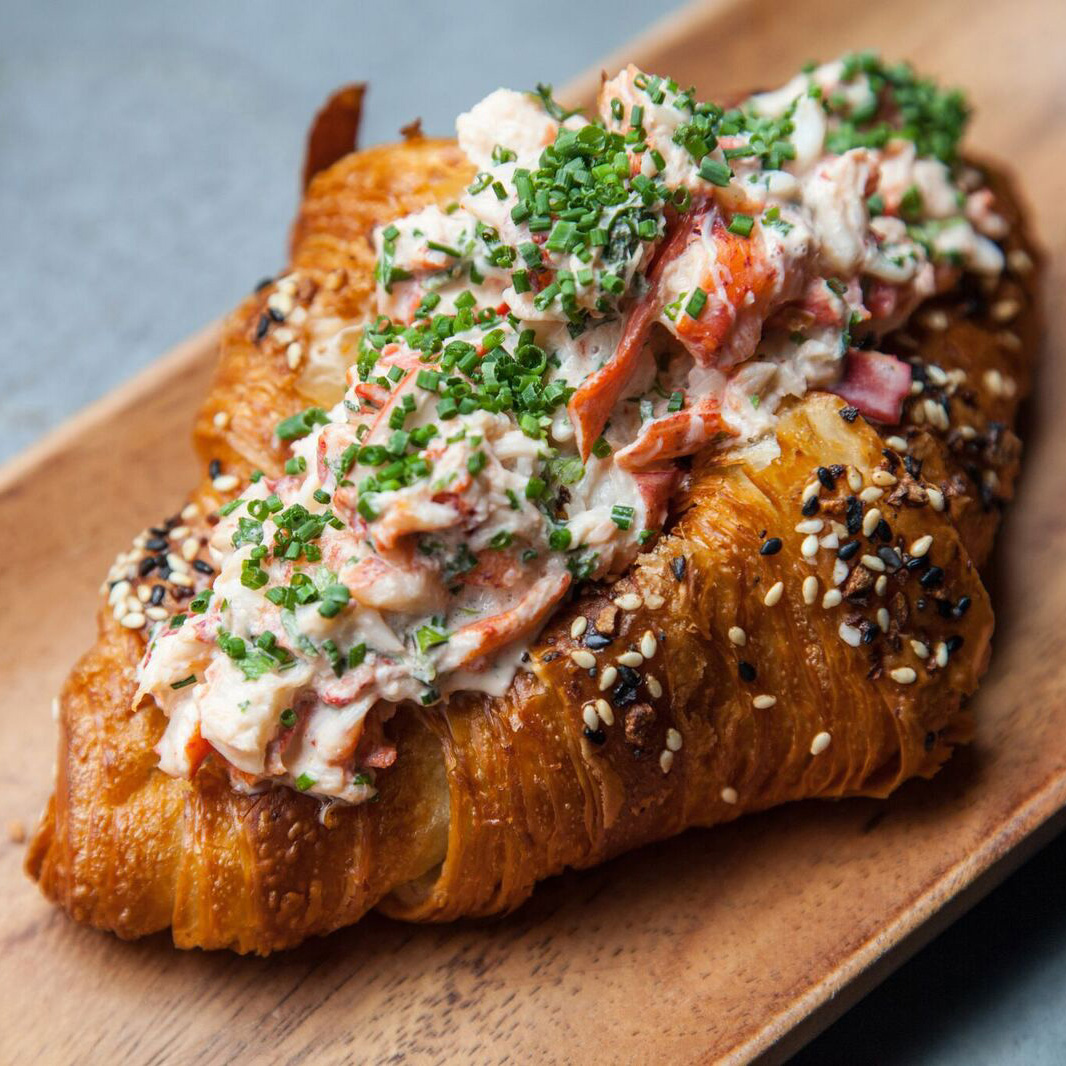 This Croissant Lobster Roll Is Absolutely Perfect