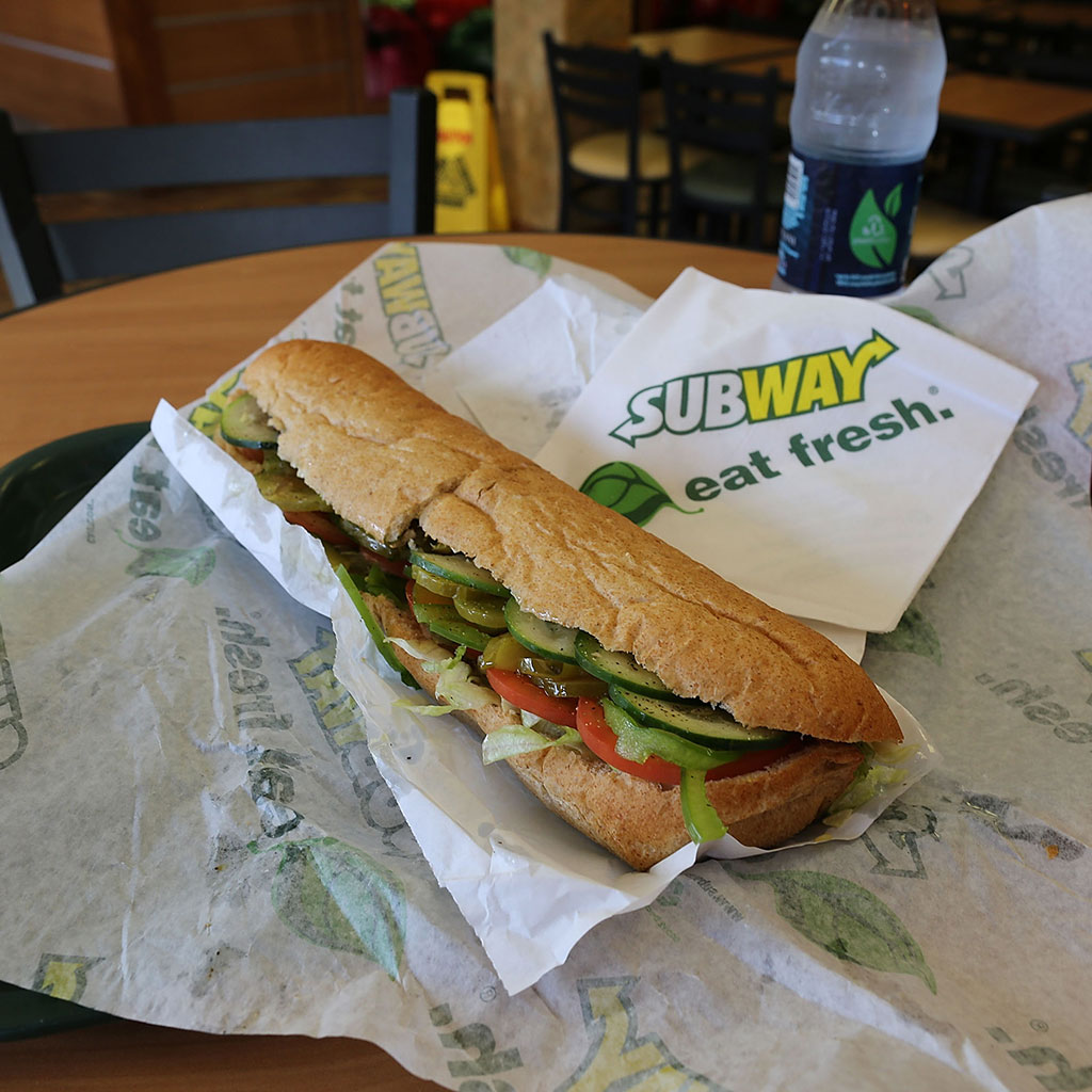 Subway, sandwich, bread