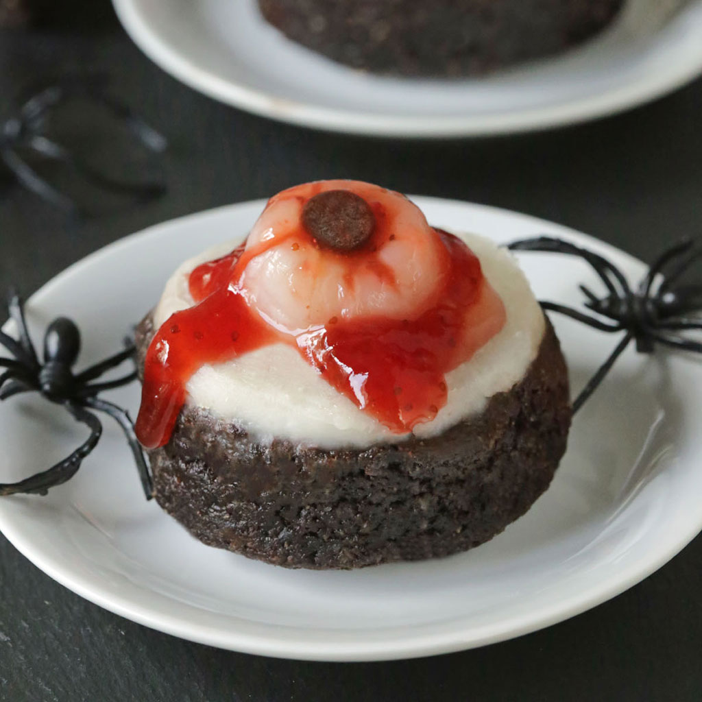 Bloody Eyeball Brownies