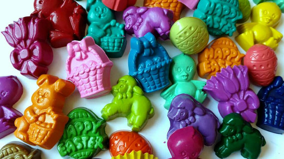 <p><b>Easter Crayons</b></p>