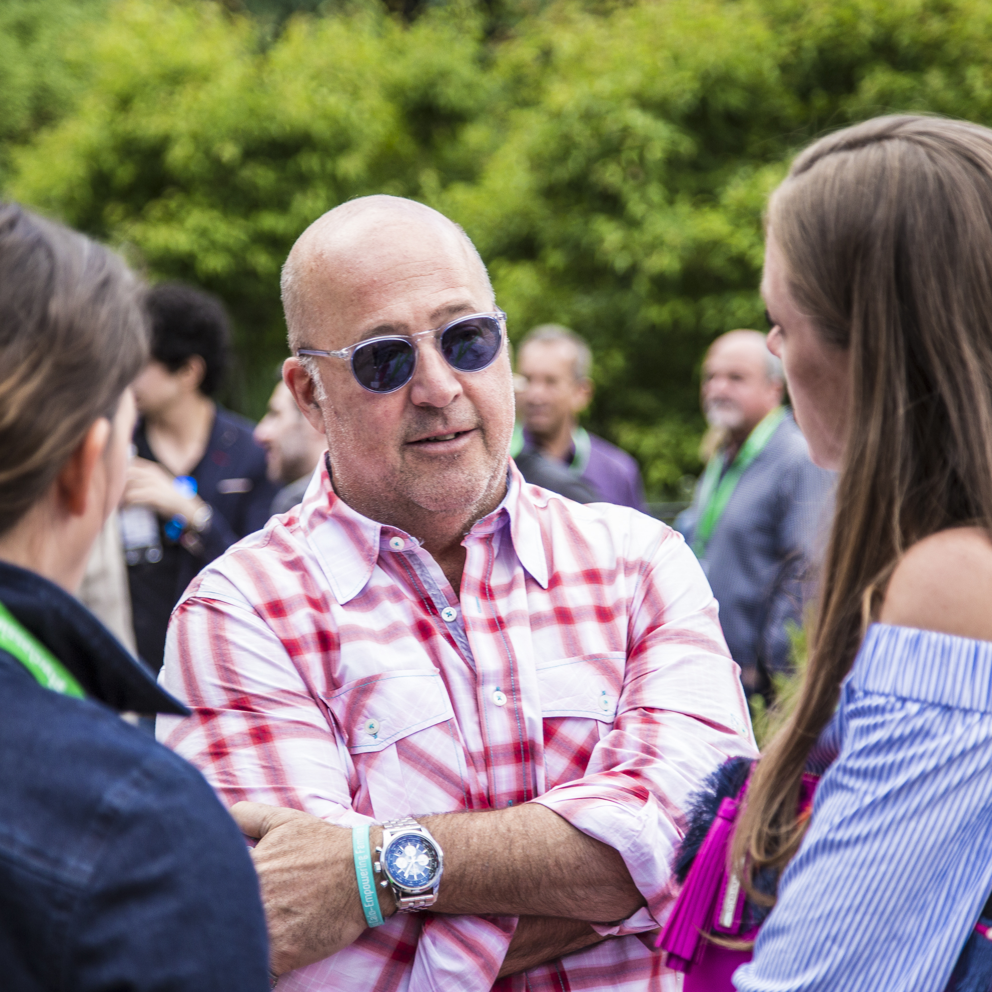 Andrew Zimmern attends the Food & Wine Classic in Aspen welcome reception