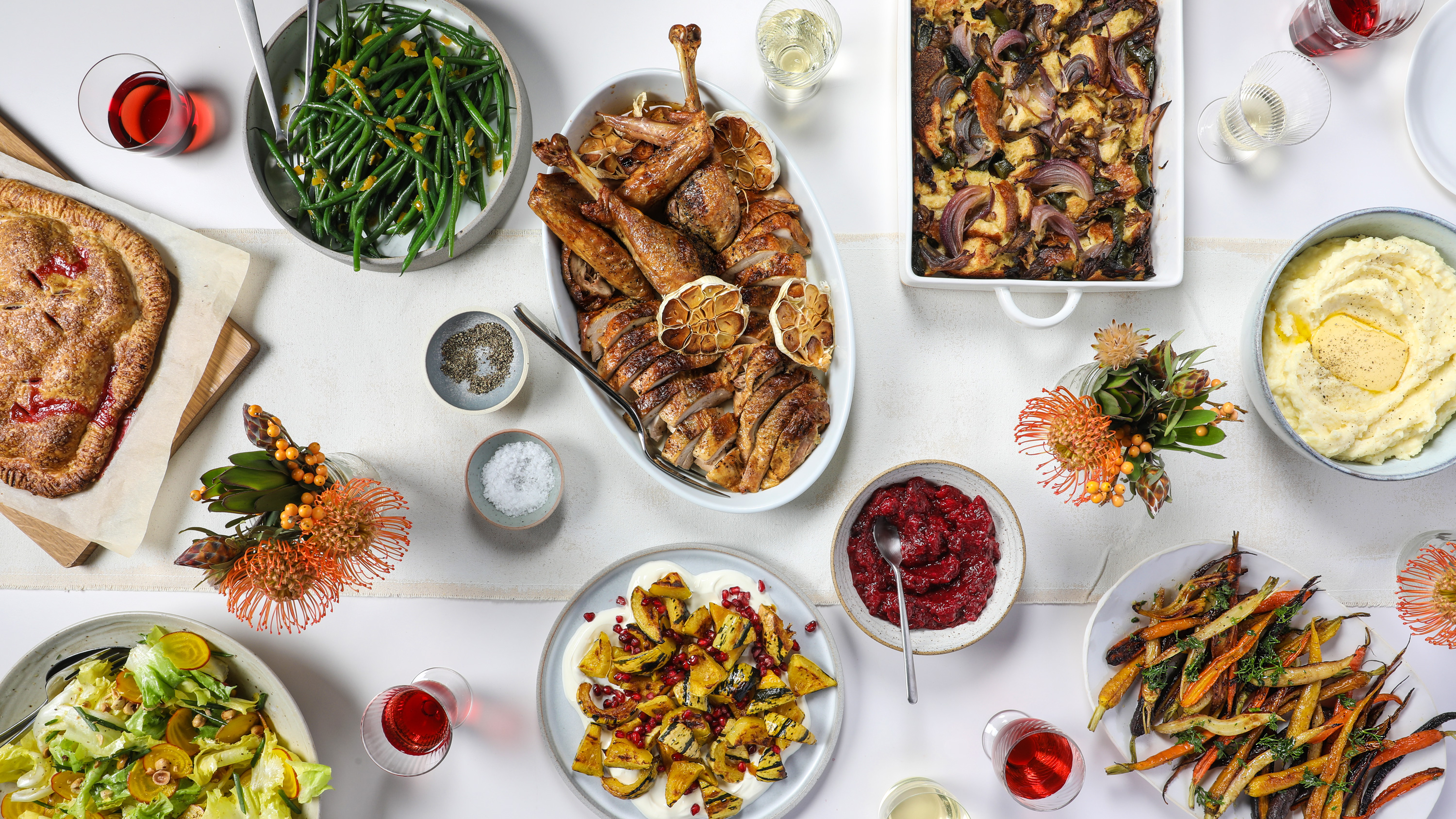 The Ultimate Make-Ahead Thanksgiving Menu