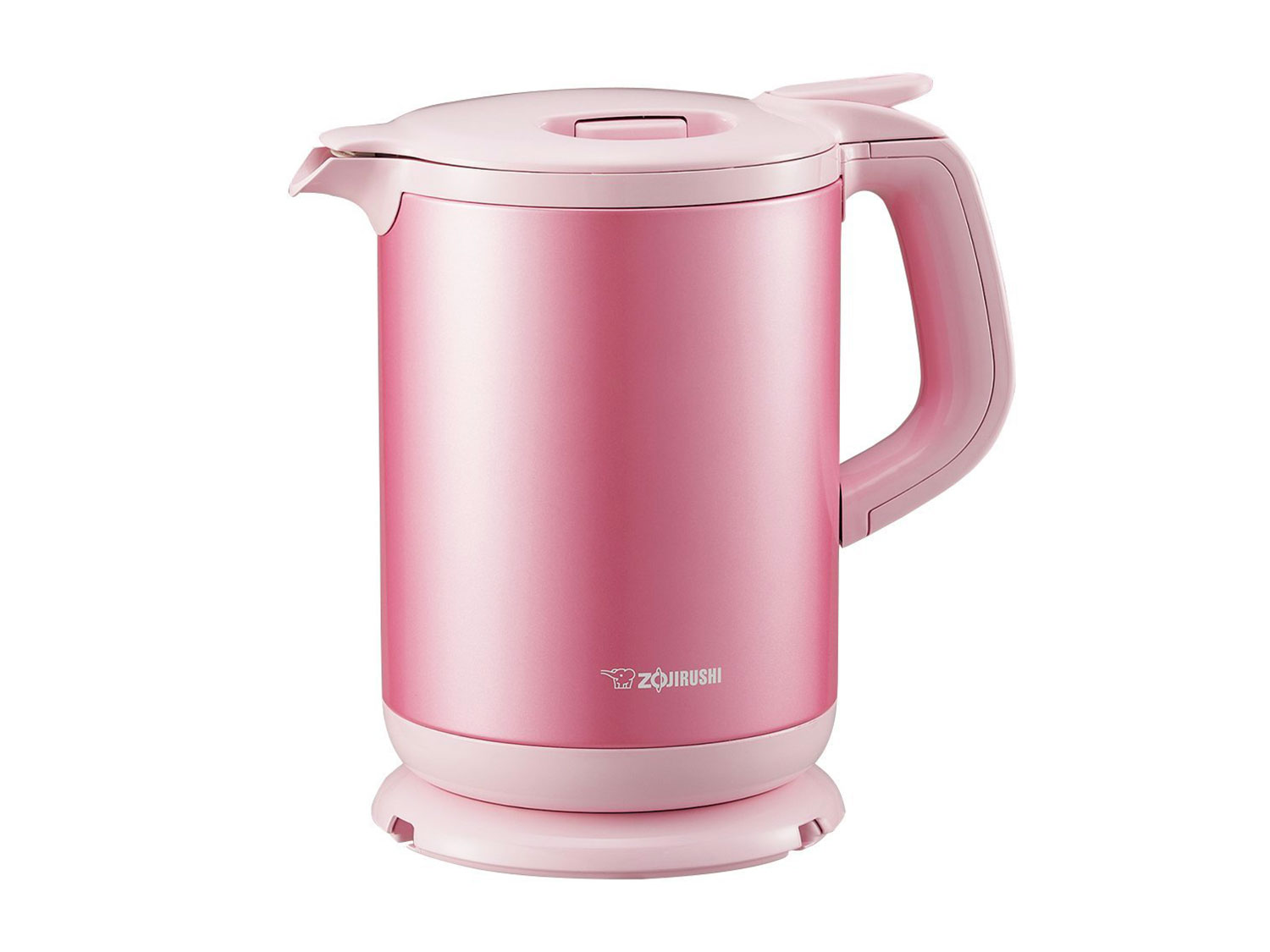 shiny pink kettle