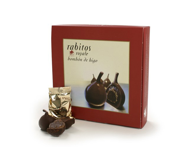 Rabitos Chocolate Dipped Figs