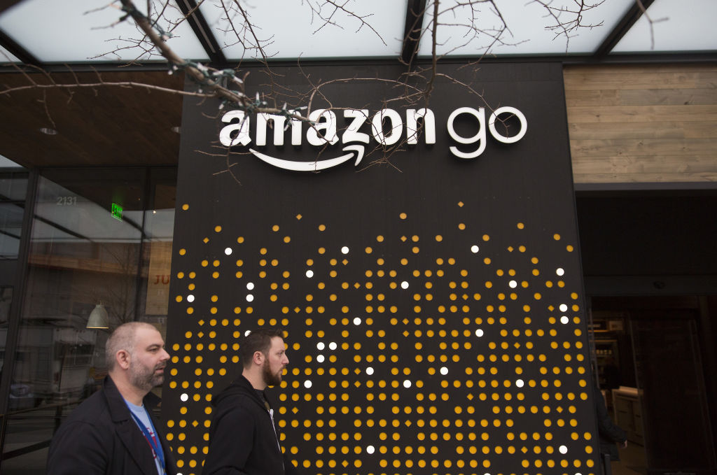 Amazon's first grocery store without a checkout line opening to public