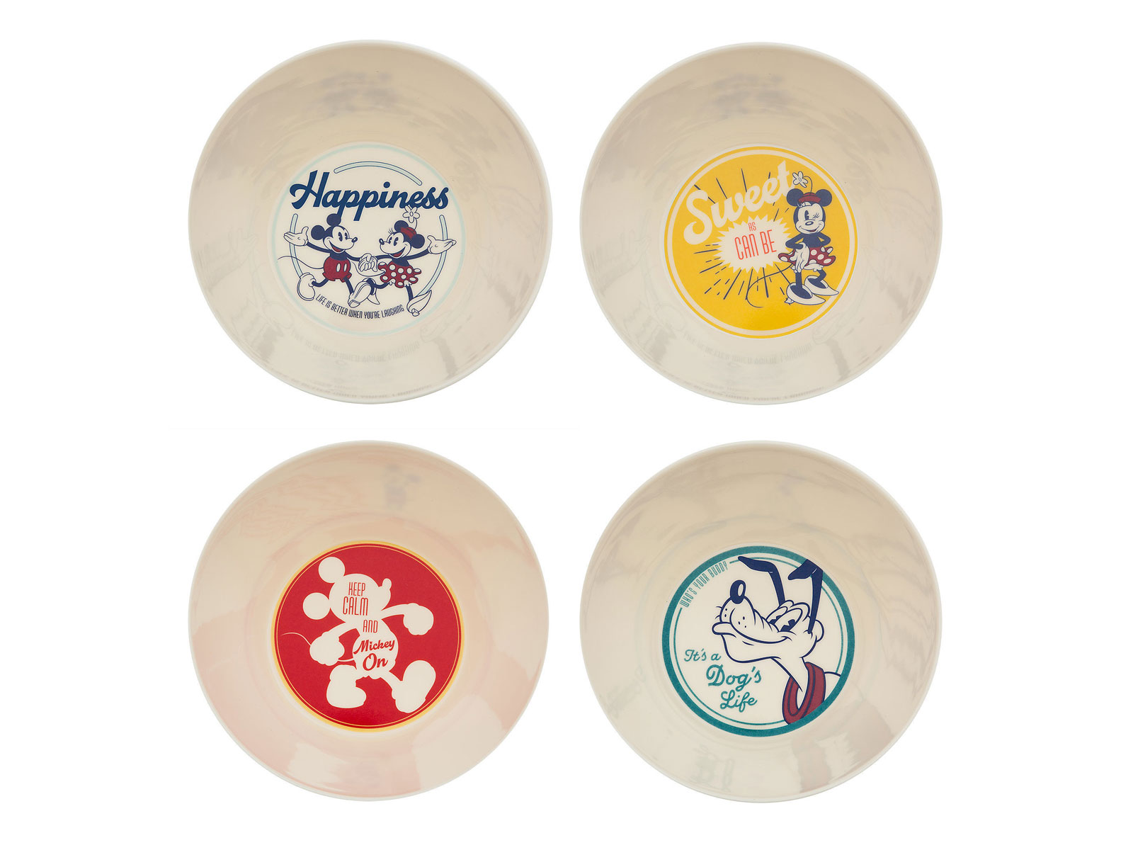 Mickey and Friends Bowls