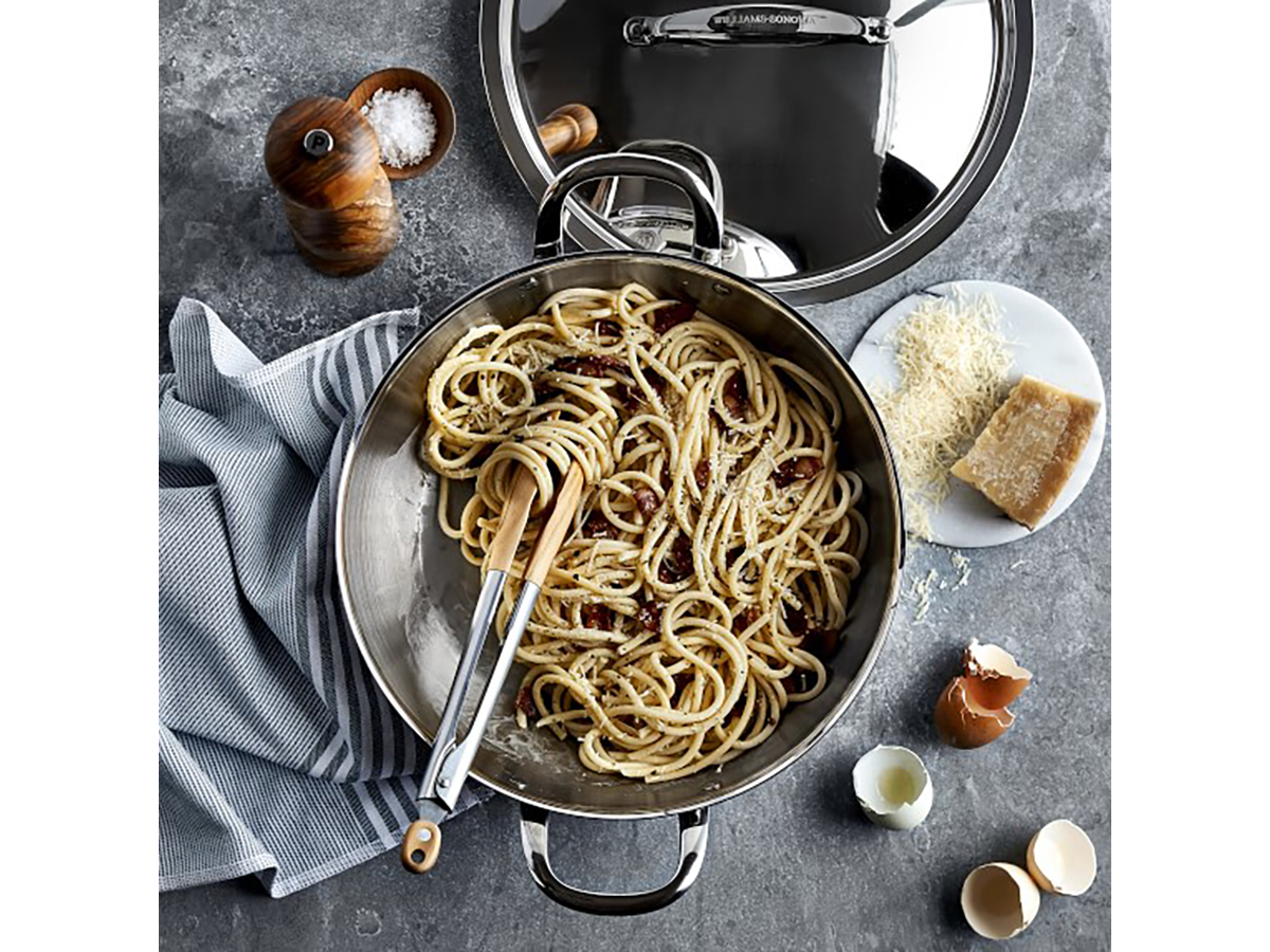 Williams Sonoma Thermo-Clad® Stainless-Steel Ultimate Pan