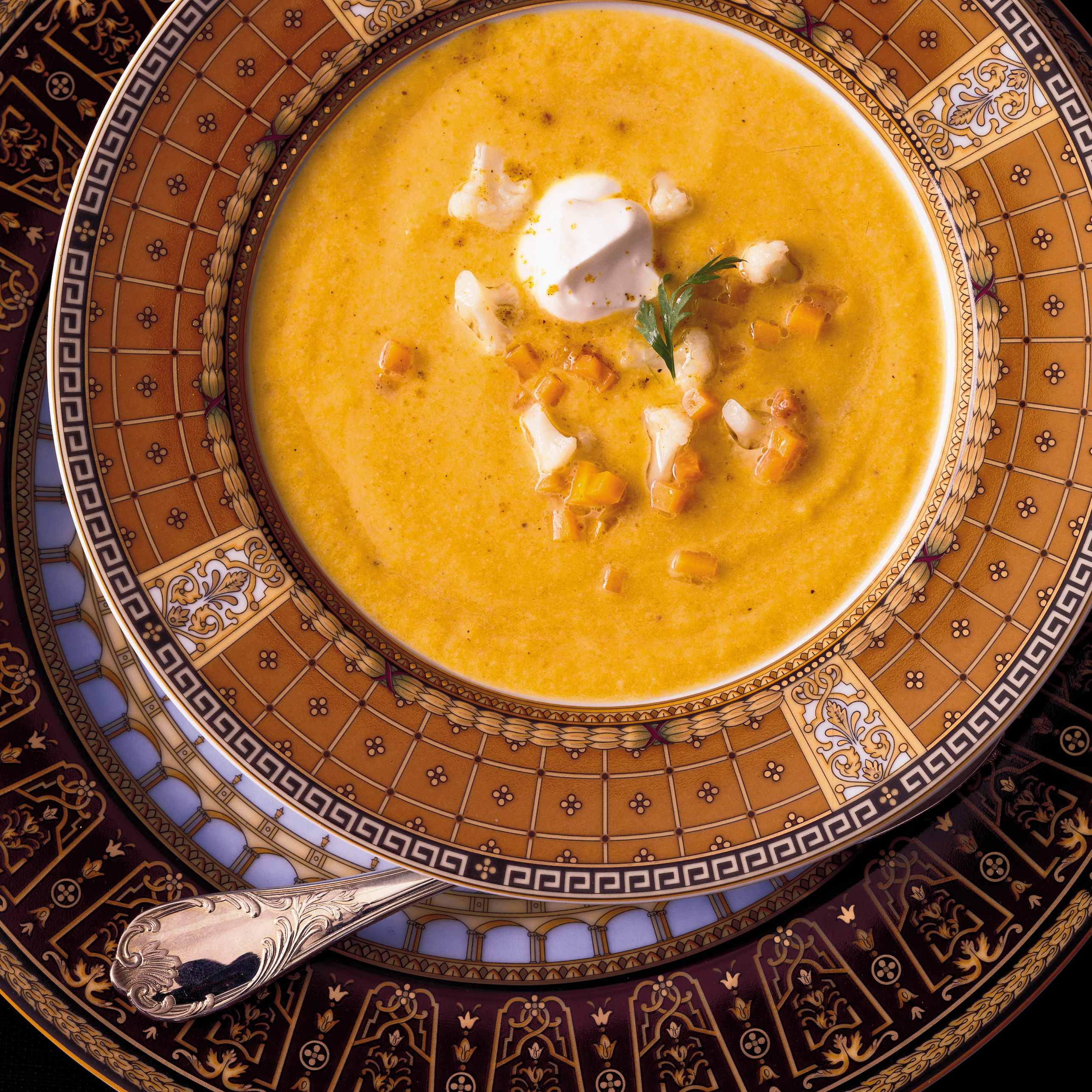 Curried Butternut Squash and Cauliflower Soup Recipe - Eric Bromberg ...