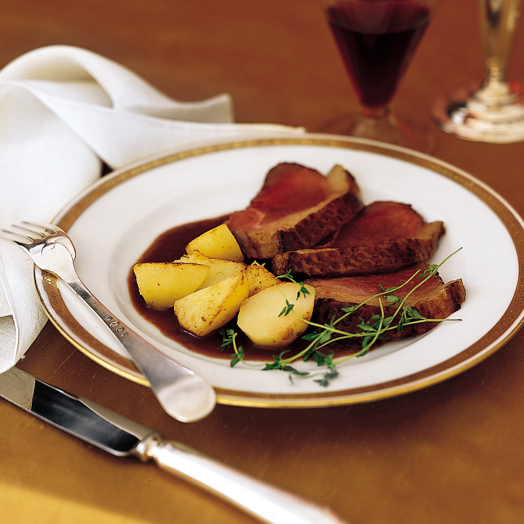 Duck Breasts In Muscat And Orange Juice Recipe Lydie