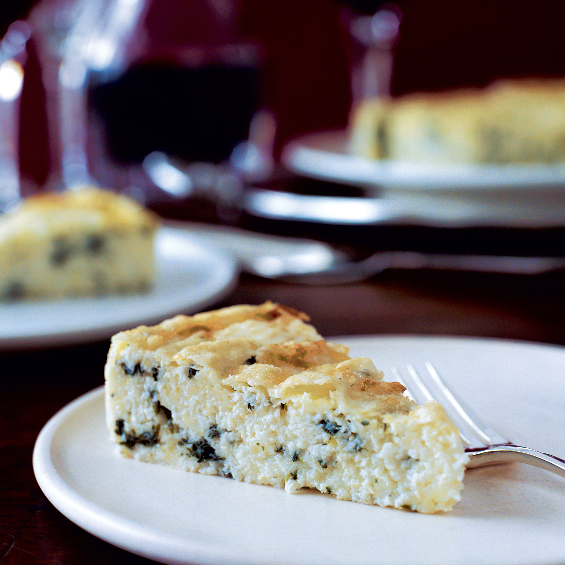 Spinach and Cheese Grits Frittatas Recipe - Marcia Kiesel | Food ...