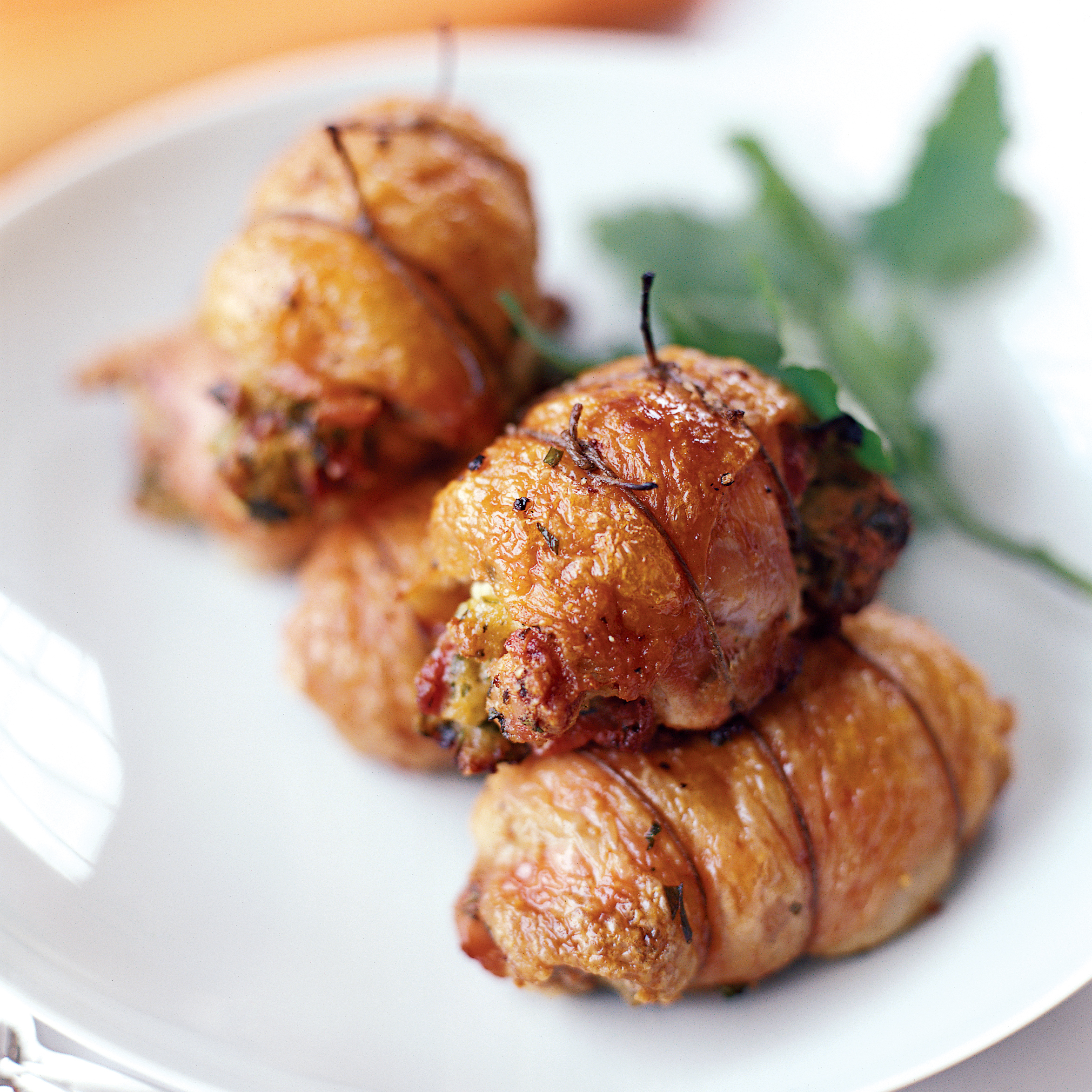 Herbandcheesefilled Chicken Thighs Recipe  Mario Batali  Food & Wine
