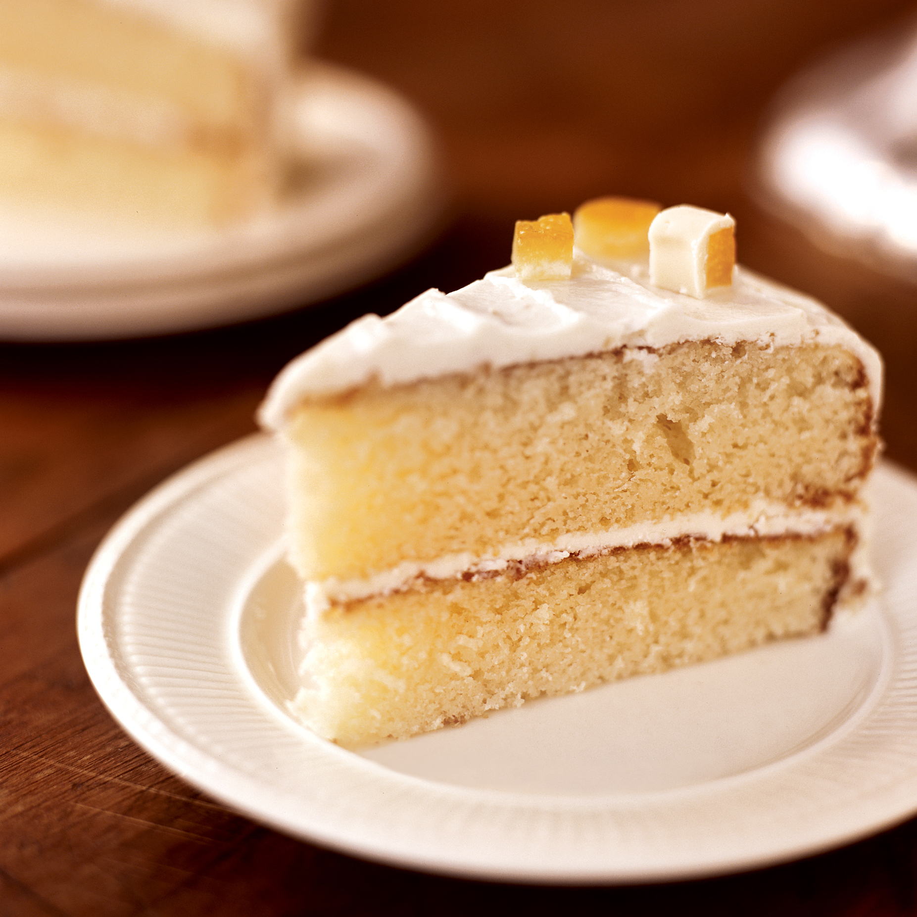 White Chocolate Cake with Orange Marmalade Filling Recipe - Grace ...