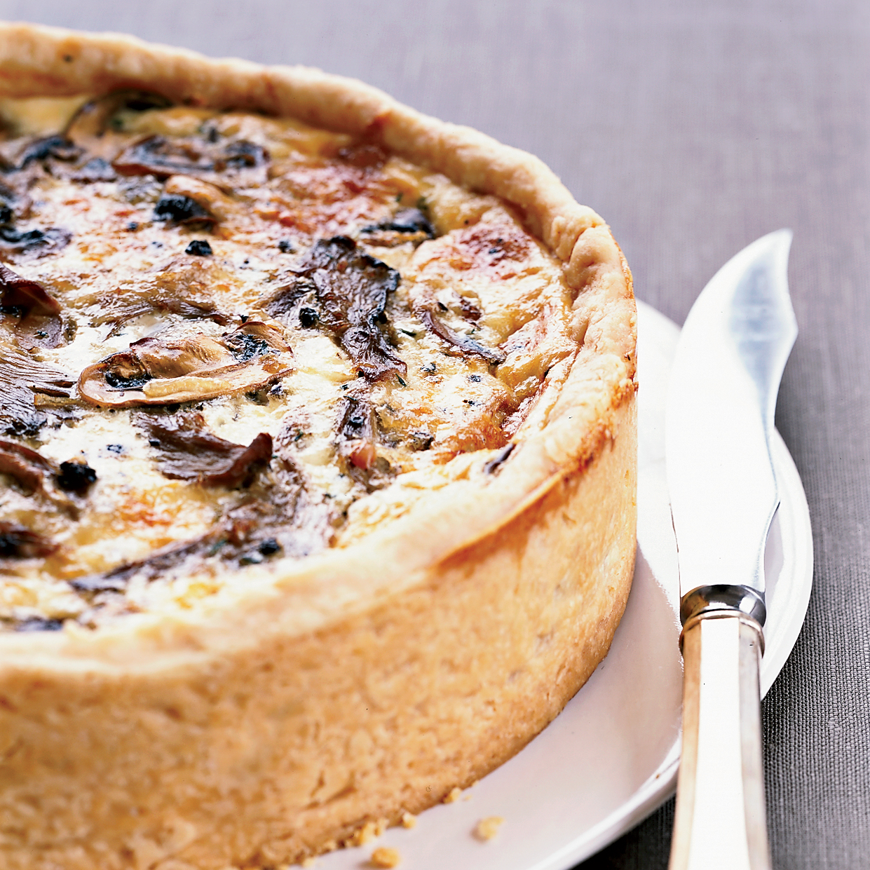 Over-the-Top Mushroom Quiche Recipe - Thomas Keller | Food & Wine