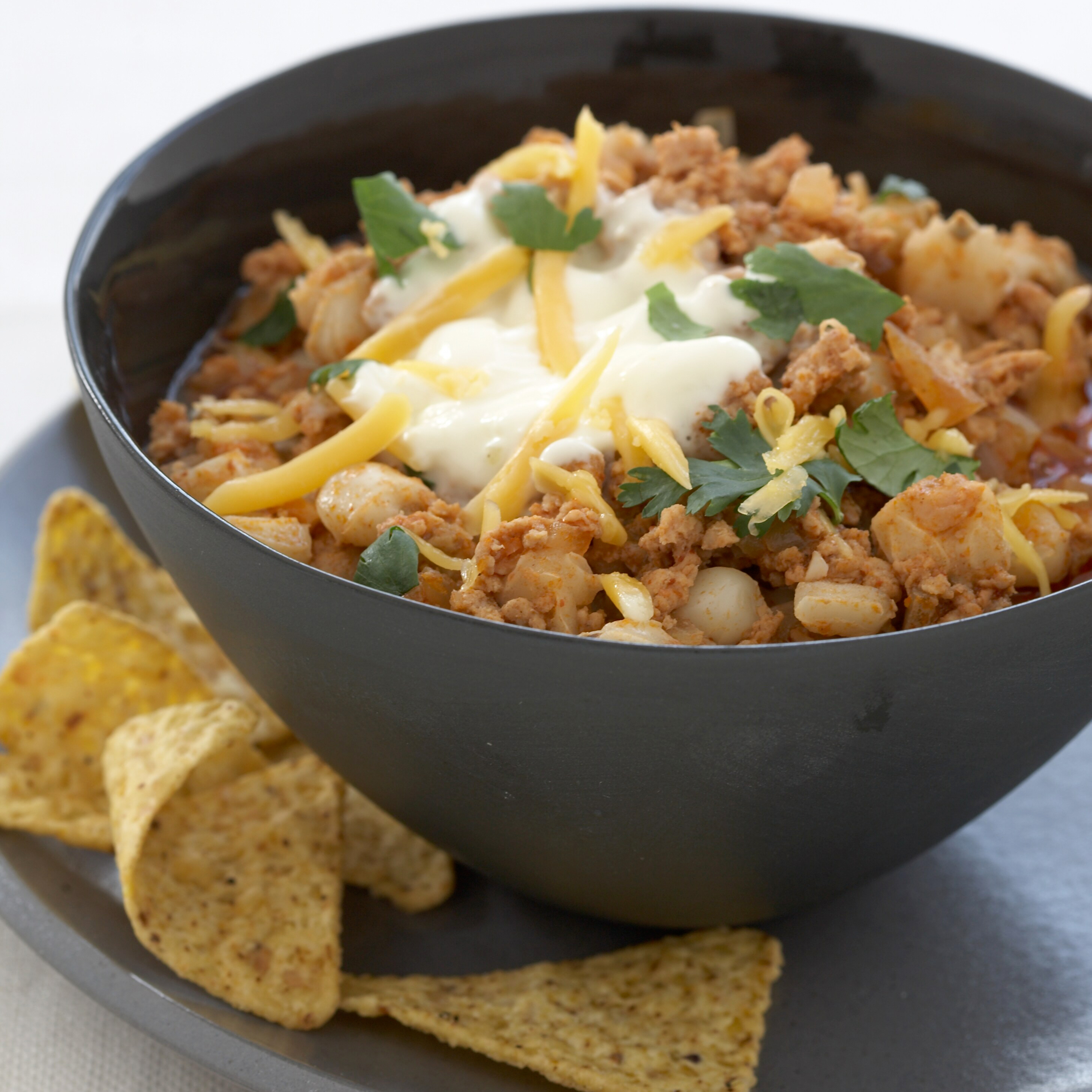 Turkey Chili Soup with Hominy RecipeGrace Parisi Food  Wine