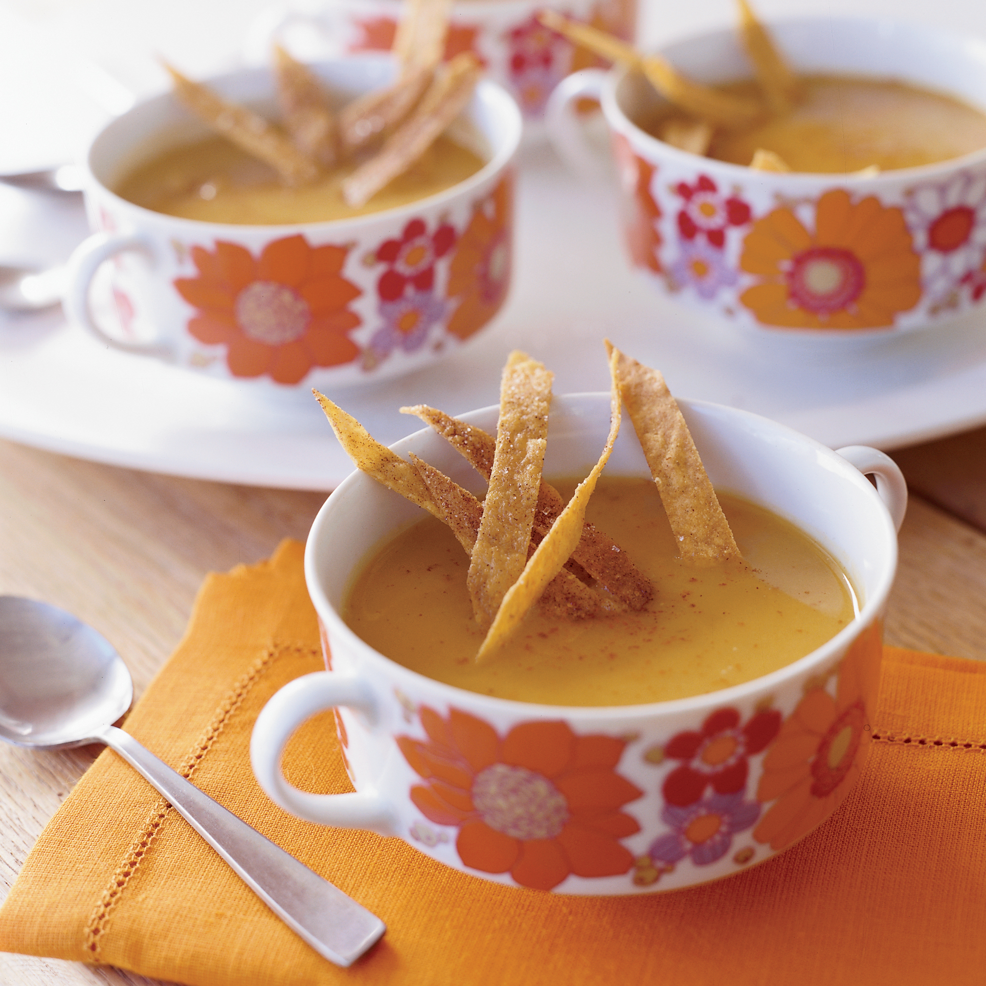Sweet Potato, Chipotle and Apple Soup RecipeSue Torres Food