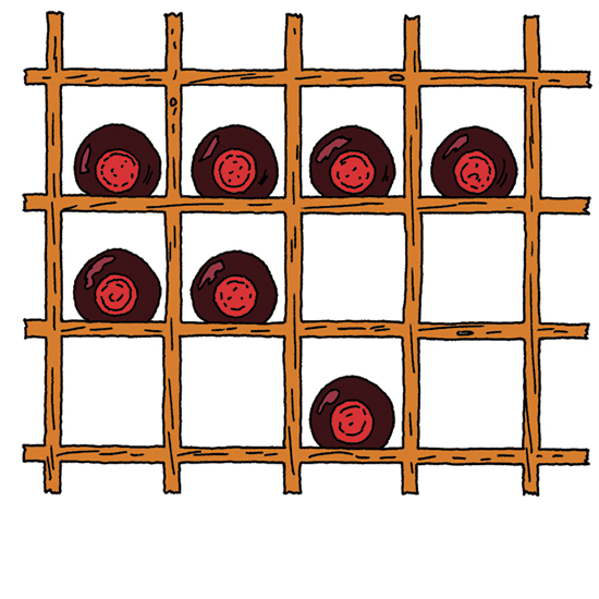 Wine Storage: Individual Racks