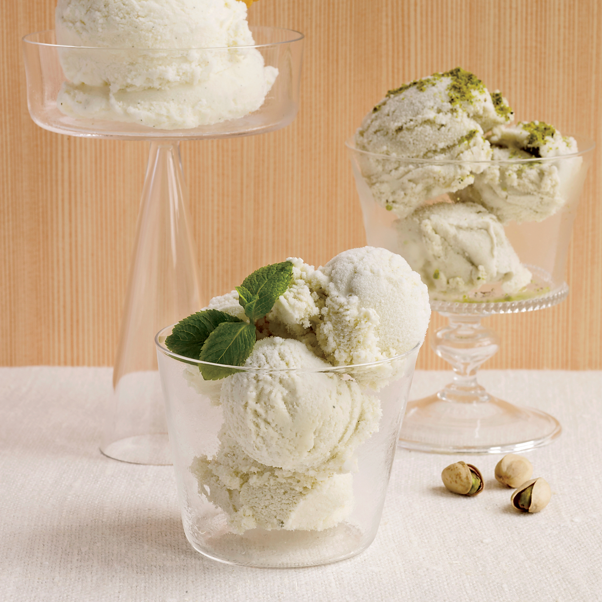 how to make mint ice cream at home