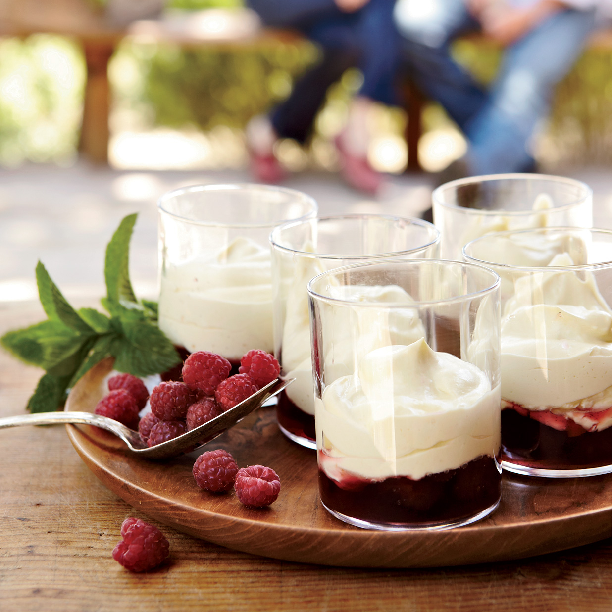 Vanilla Zabaglione with Raspberries Recipe - Michael Emanuel, Taylor ...