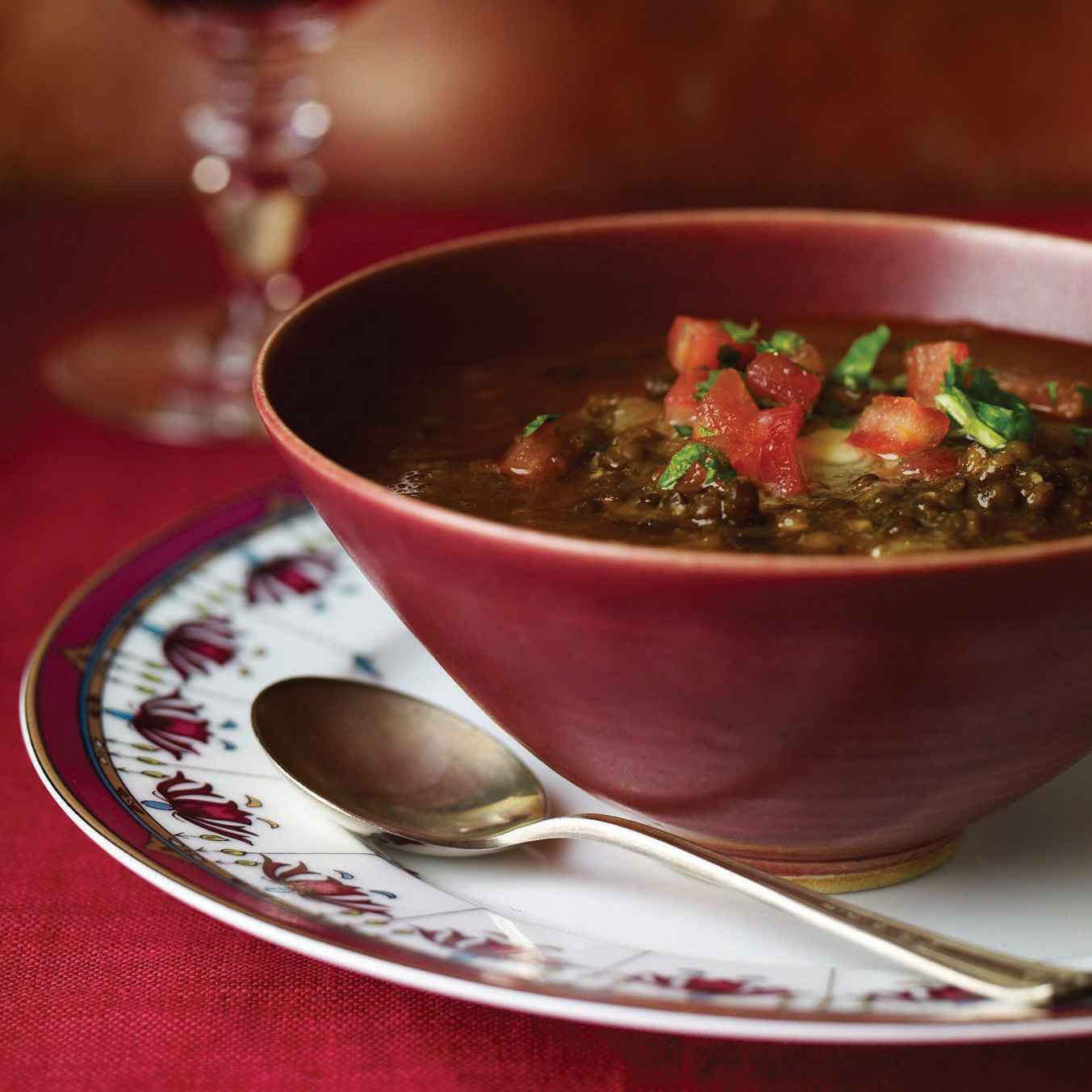 Black Lentil Soup Recipe Rajat Parr Food Wine