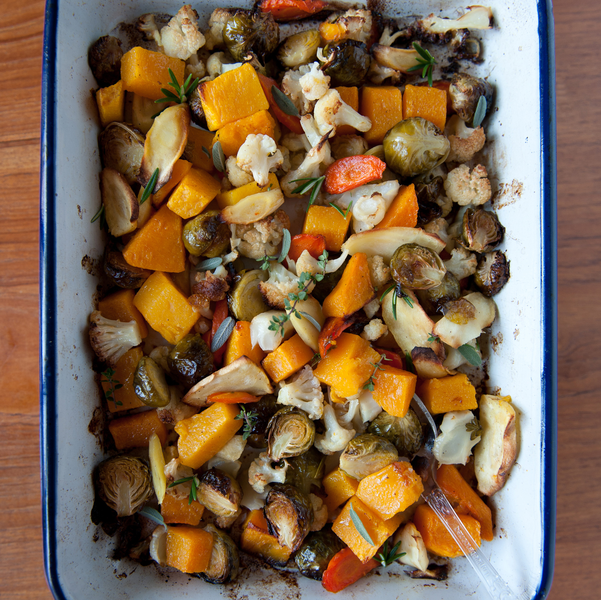 Roasted Vegetables With Fresh Herbs Recipe
