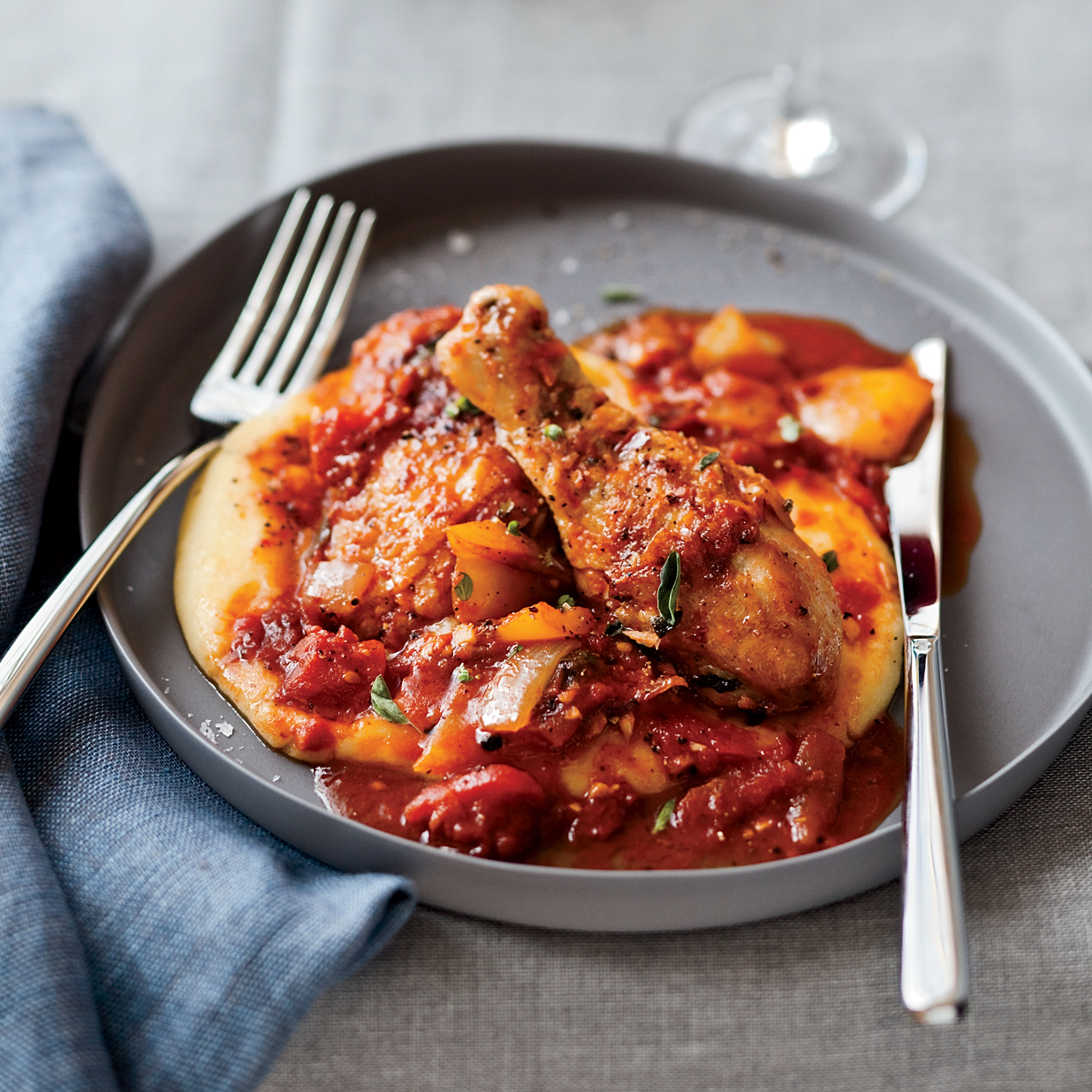 Braised Chicken All'Arrabbiata Recipe - Robert Holt