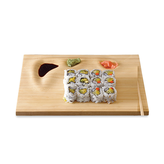 Domestic Aesthetic sells contoured sushi trays.