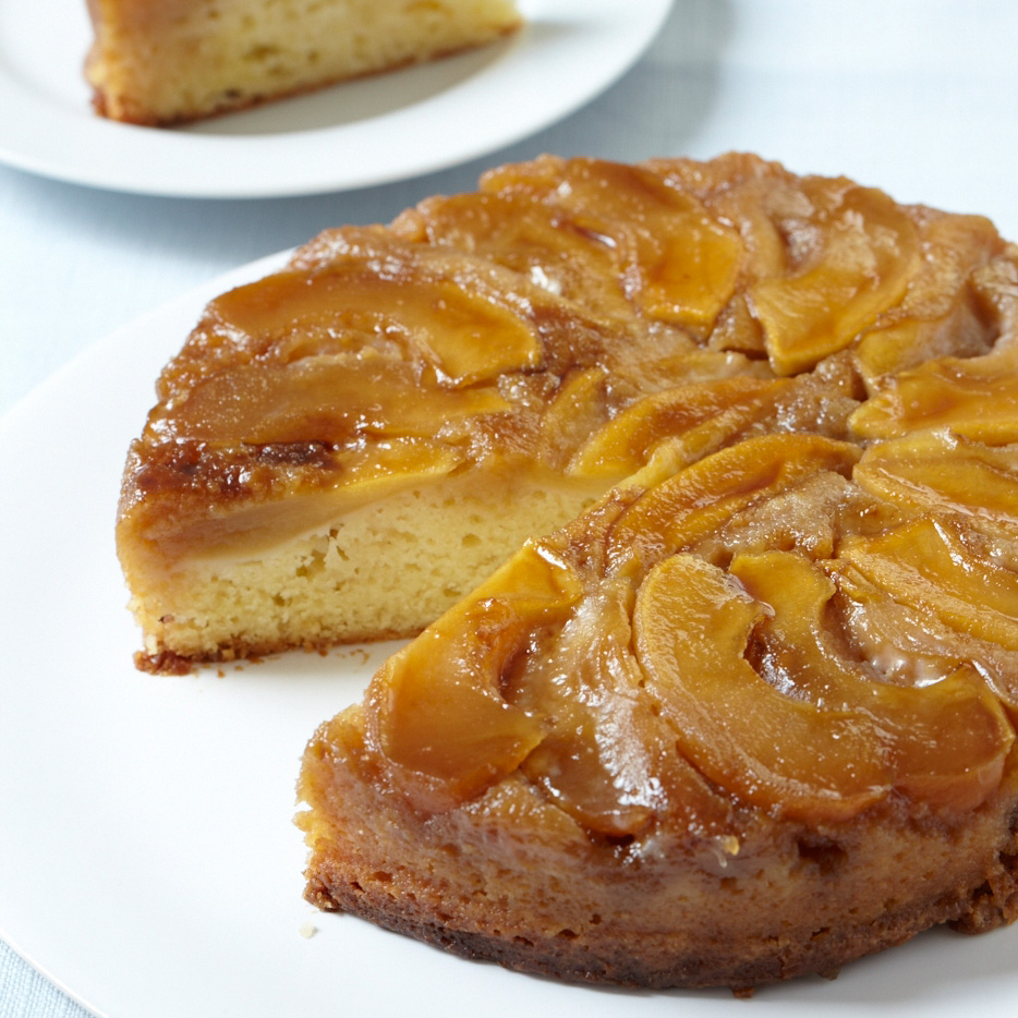 Apple Upside-Down Cake Recipe - Grace Parisi | Food & Wine