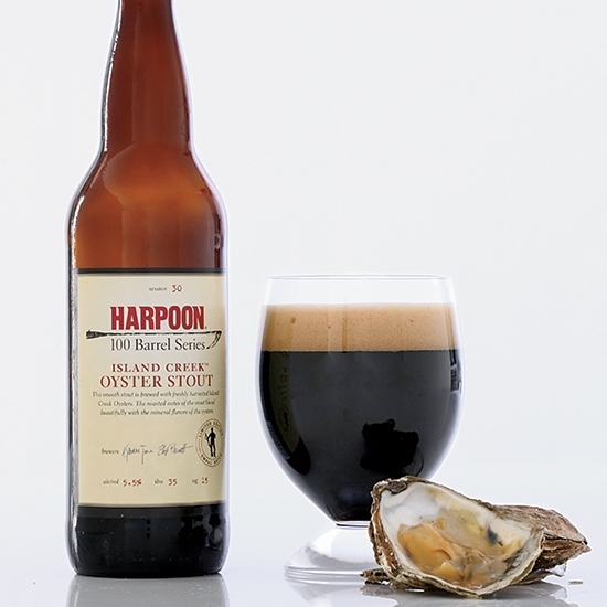Boston's Harpoon British Oyster Stout