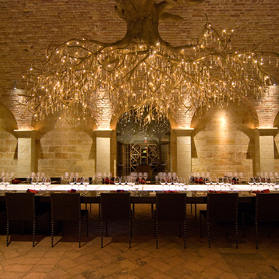 Napa's most beautiful wine tasting rooms