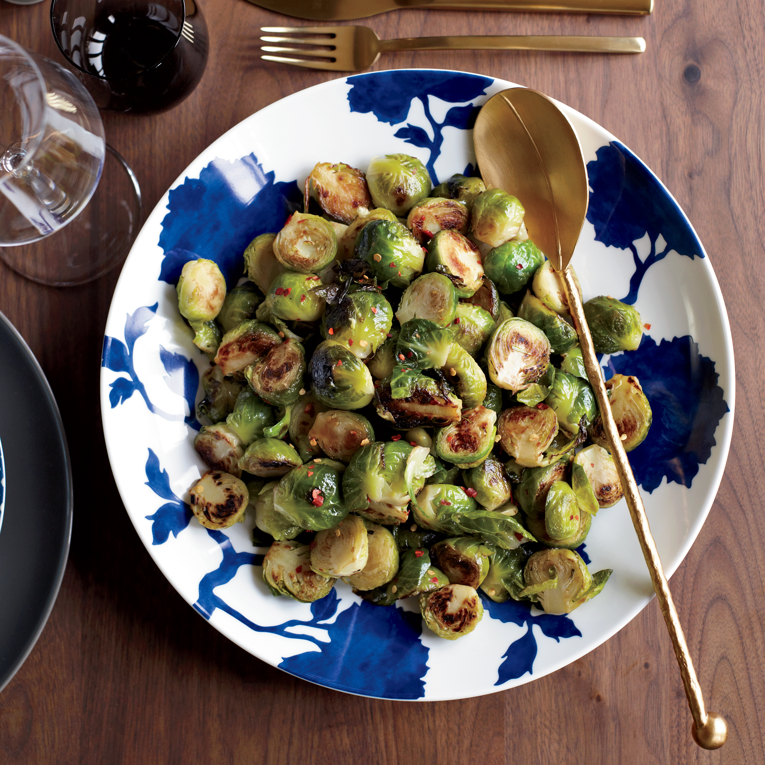 Spicy-and-Garlicky Brussels Sprouts Recipe - Joanne Chang ...
