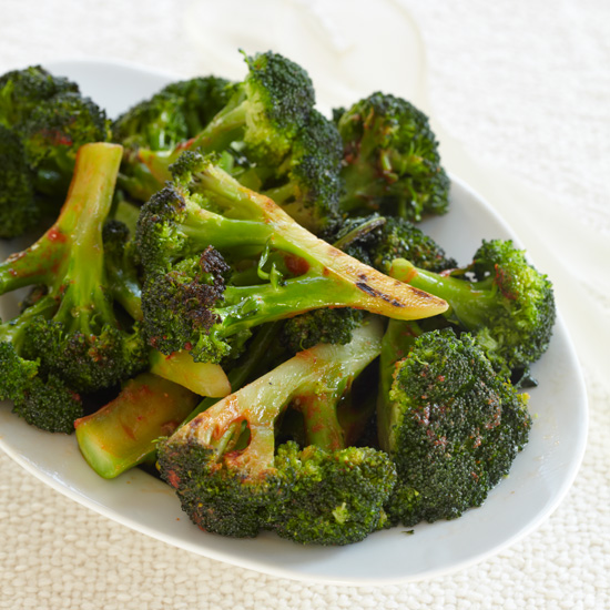Broccoli with Hot Sauce