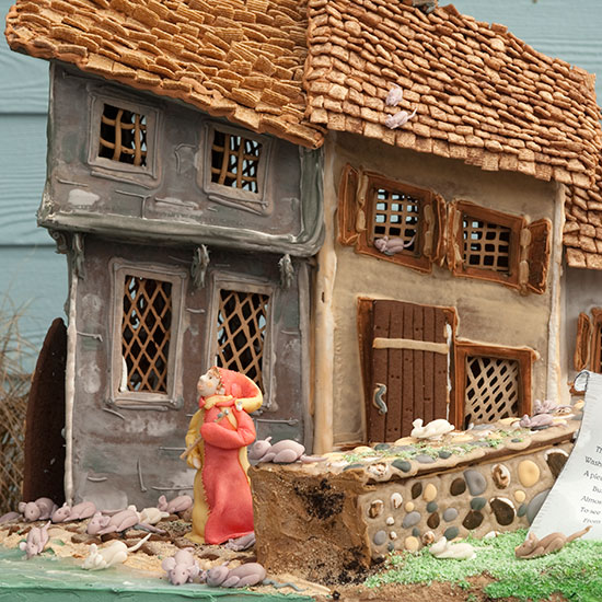 Over-the-Top Gingerbread Houses: Pied Piper Gingerbread House