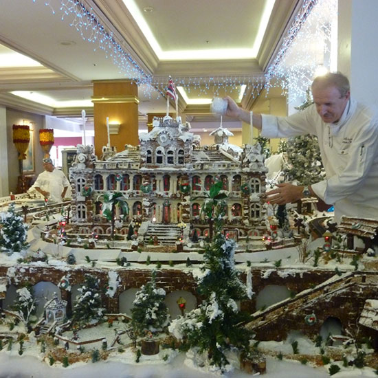Over-the-Top Gingerbread Houses: Santa's German Gingerbread Village