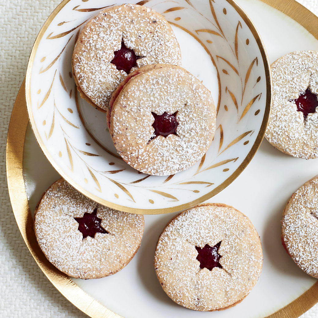 Linzer Cookies with Spiced Jam Recipe - Kevin Sbraga | Food & Wine