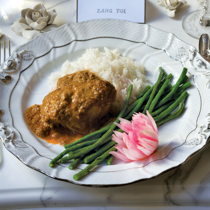 Curried-Coconut Chicken Rendang Recipe - Zang Toi | Food & Wine