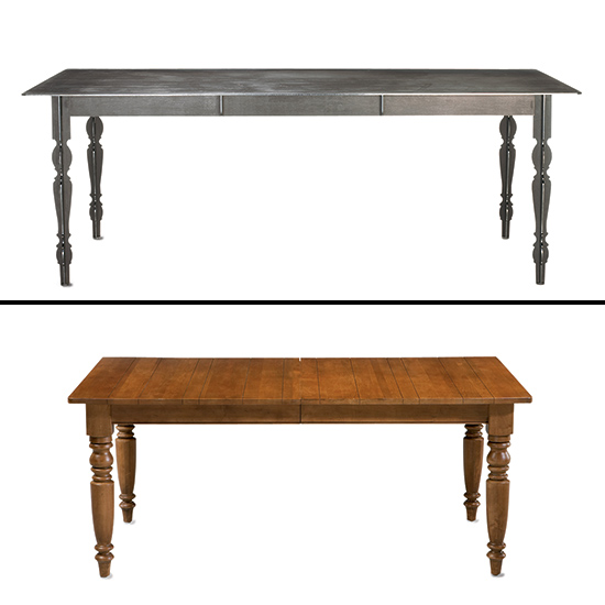 Style Splurges & Steals: Turned-Leg Tables