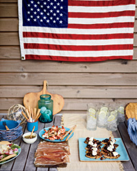 Ethan Stowell's Fourth of July grilling party menu.