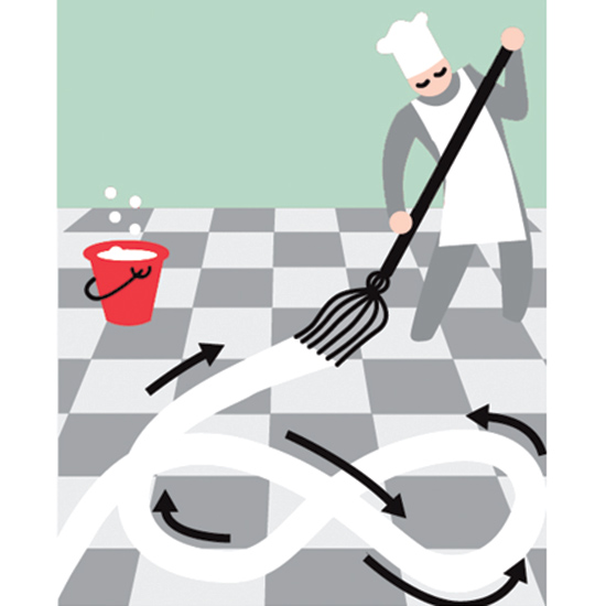 Kitchen Cleaning Tips: Perfect Mopping