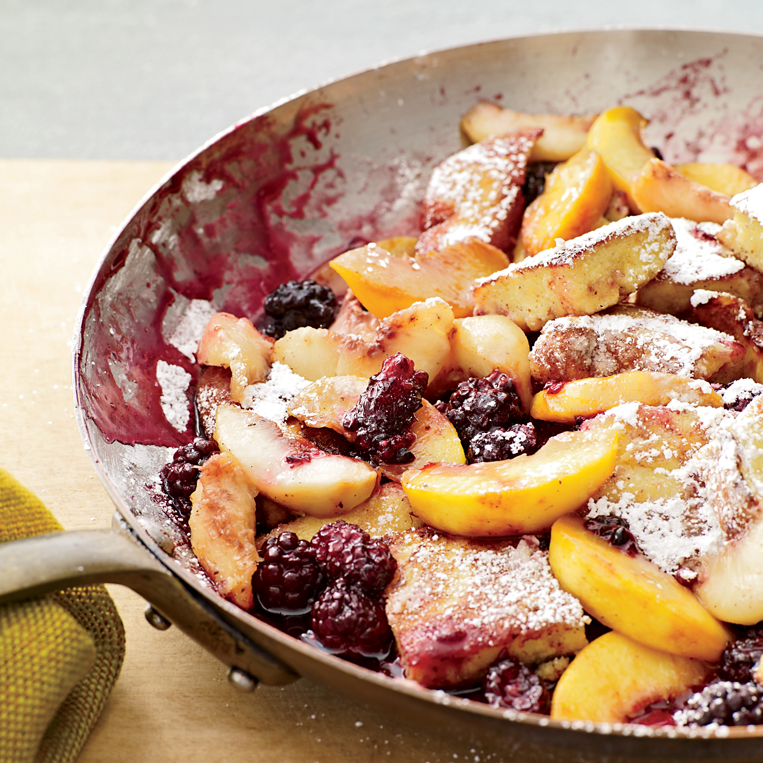Kaiserschmarrn with Peaches Recipe - Grace Parisi | Food ...