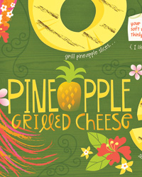 They Draw & Cook: Pineapple Grilled Cheese